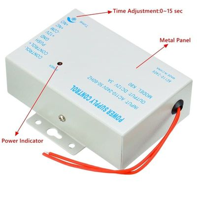 Electric Door Lock Stable DC 12V/3A Door Access Control System Switch Power Supply AC 110~240V Power Supply/Miniature Power