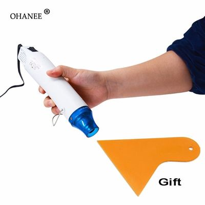 OHANEE 220V 300W Electric Air heat tool hot air gun and scraper car stickers window film wrapping tools