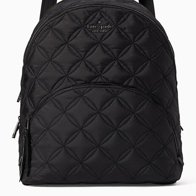 Kate Spade Karissa Nylon Quilted Large Backpack