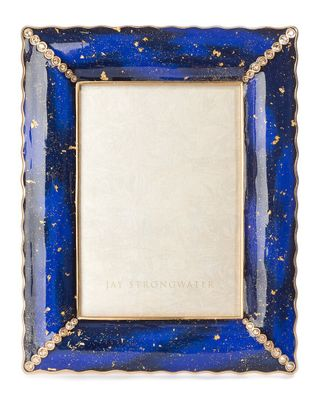Jay Strongwater Clifton  Ruffle Edge5x7in Frame