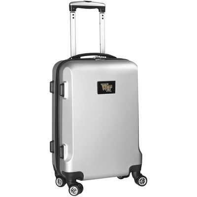 Wake Forest Demon Deacons 20In 8-Wheel Hardcase Spinner Carry-On - Silver