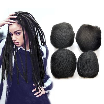 YONNA Tight Afro Kinky Bulk Human Hair 100% Human Hair For Dreadlocks,Twist Braids For Black Women 4pcs/lot For Full Head