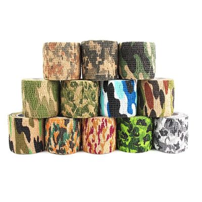12 Colors Camouflage Tape 5cmx4.5m Army Camo Outdoor Hunting Shooting Tool Camouflage Stealth Tape Waterproof Wrap Durable 2019