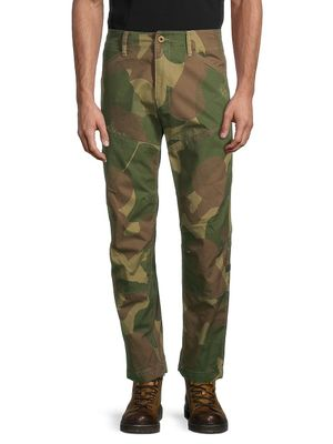 G-Star RAW Camouflage Cotton Pants