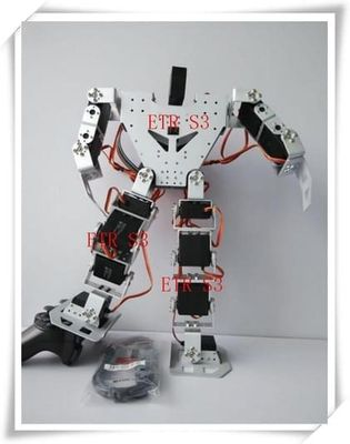 free shipping 17 DOF humanoid Educational robot High - end competitive robot matching with metal gear digital Robotservo RDS3115