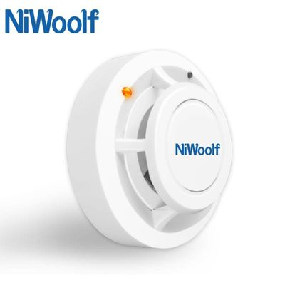 2019 NEW Niwoolf Independent alarm and Wireless Smoke detector 433MHz High sensitivity, For GSM alarm system, Security alarms