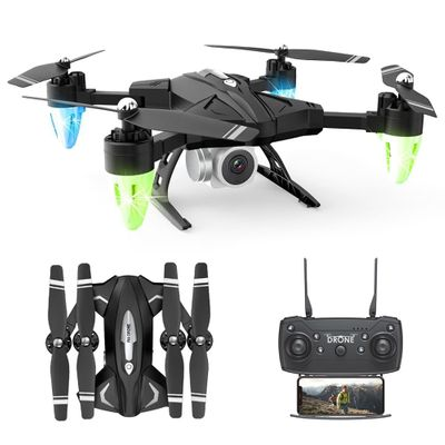 2020 Mini Drone F69 Remote Control Quadcopter With Camera HD Foldable Drone Pro Wifi FPV RC Helicopter Quadrocopter Toy For Kids
