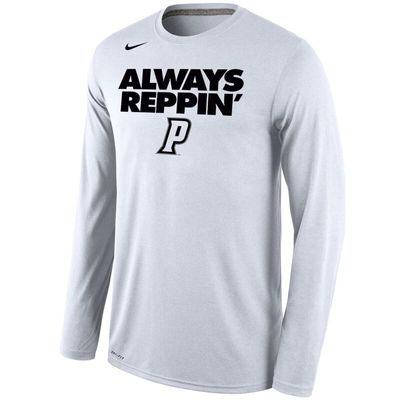 Providence Friars Nike Always Reppin' Legend Bench Long Sleeve T-Shirt - White
