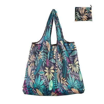 New Fashion Women Foldable Shopping Bag Shopper Tote Large Eco Reusable Shopping Bags Portable Shoulder Handbag Folding Pouch
