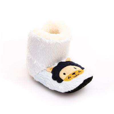 ebebek HelloBaby Embroidered Baby Home Bootie