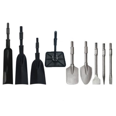Tree digging shovel,spade,root cutting shovel,pointed pick,flat pick,Drilling and ramming plate for tree digger/seedling digger