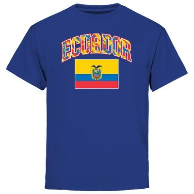 Ecuador Youth True Colors T-Shirt - Royal