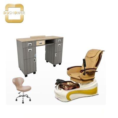 Doshower nail salon equipment of luxury spa pedicure chair with foot spa