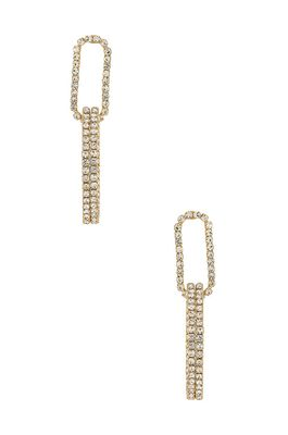 Ettika Double Drop Earrings