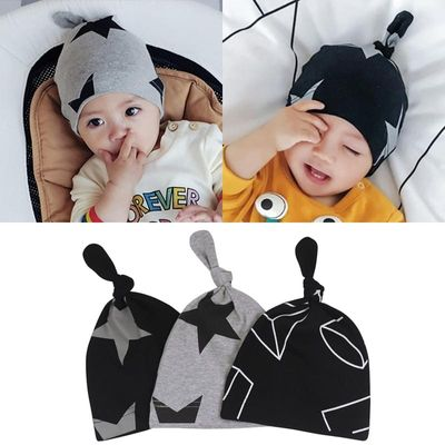 Spring Autumn Cotton Baby Hat Lovely Cat Star Beanie Cap Winter Toddler Infant Newborn Kids Cap Boys Girls Hats Accessories