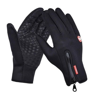 High Quality Touch Screen Windproof Horse Riding Gloves Breathable Equestrian Gloves For Men Women Child 4 Colors