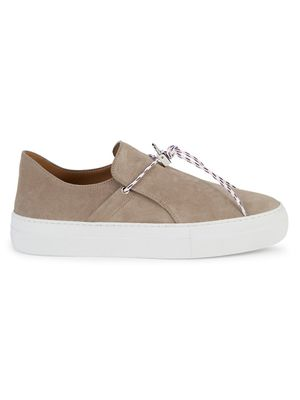 BUSCEMI Sabot Suede Sneakers
