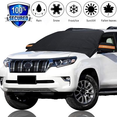 Magnetic Car Half Windshield Snow Snow Frost Winter Wind Protector Magnetic Car Shield 215 X 125cm For All Cars