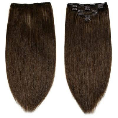 Neitsi Double Drawn Remy Clip In On Human Hair Extensions 20