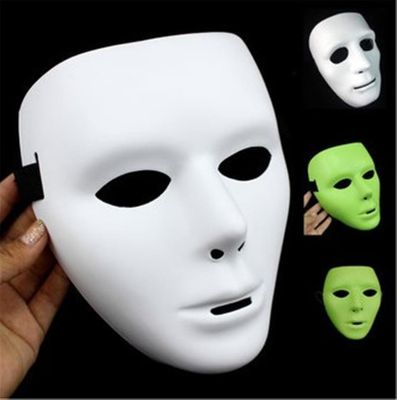 1Pc Cool Plastic Kamen Rider Mask Ghost Dance Masks Hip Hop Mask White Night Lights for Home Bar Nightclub Party Props Supplies