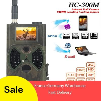HC300M 12MP 1080P 940nm Trail Cameras MMS GPRS Scouting Hunting Camera photoTraps Hunter Cameras Night Vision Wildlife Camera
