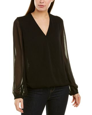 NYDJ Crossover Blouse