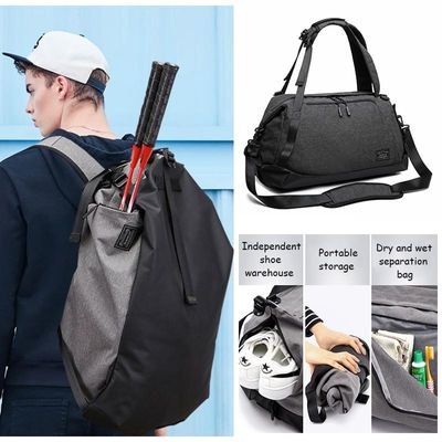 Badminton Racket Bag Tennis Double Shoulder With Shoe Bag Fit 1-3 Tennis Racquets Backpack Sports Training Backpack Men And Wome