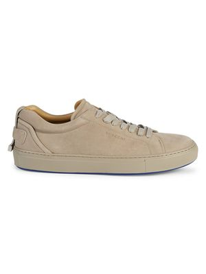 BUSCEMI Lyndon Suede Low-Top Sneakers