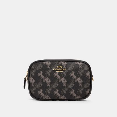 COACH Convertible Belt Bag With Horse And Carriage Print