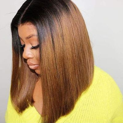 Closure Wig Short Ombre Human Hair Wig 99j Burgundy Closure Wig Straight Hair Wig 4x4 Closure Wig Bob Wigs Bob Lace Front Wigs
