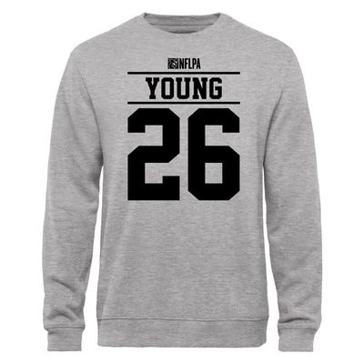 Usama Young NFLPA Player Issued Sweatshirt - Ash