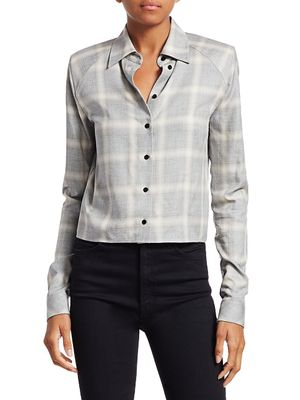 RtA Maxine Plaid Shirt