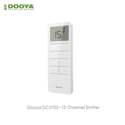 Dooya DC2702 15-Channel Remote Controller for Dooya all RF433 motors,Wireless Remote Control 15pcs motors,through Wall Control