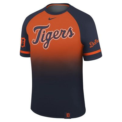 Detroit Tigers Nike Legend Raglan T-Shirt - Navy