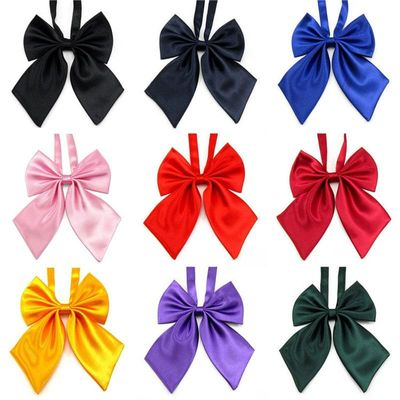HOOYI 2019 solid bow ties women's butterfly bowtie BOWS