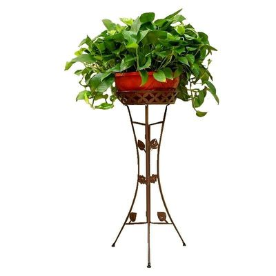Rack Iron Art To Ground Indoor A Living Room Balcony European Style Multi-storey Green Luo Flowerpot Shelves Province Space