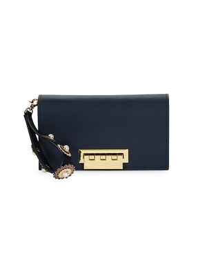 ZAC Zac Posen Earthette Leather Clutch