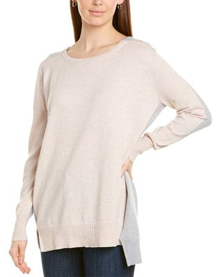 Lysse High-Low Cashmere-Blend Tunic