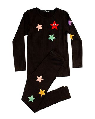 Noggi Girls Sherpa Star Set