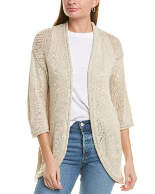 Magaschoni 3/4-Sleeve Cardigan