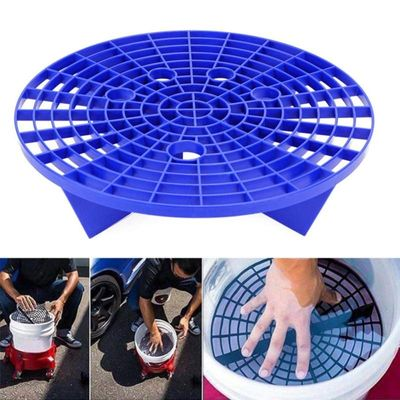 New Car Wash Grit Guard Insert Washboard Bucket Filter Sand Isolation Net Lastic Filter Anti-scratch Dirt Pad Car Cleaning Tool