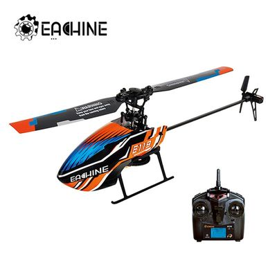Eachine E119 2.4G 4CH 6-Axis Flybarless 4CH Transmitter with LED Display RC Helicopter RTF 1pcs 3pcs 4pcs Batteries Version