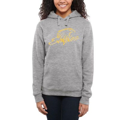 Embry-Riddle Eagles Women's Classic Primary Pullover Hoodie - Ash -