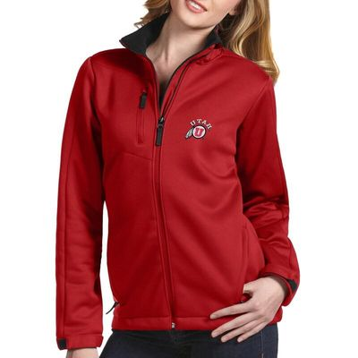 Utah Utes Antigua Women's Traverse Full-Zip Jacket - Red