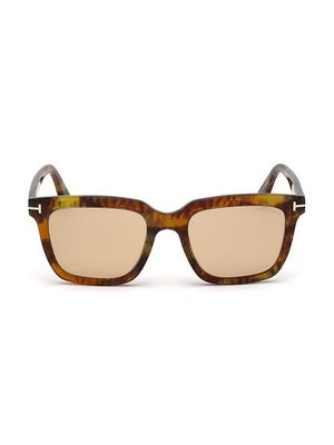 Tom Ford Marco 53MM Square Sunglasses