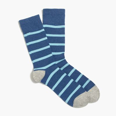 J.Crew Factory Tipped-stripe Socks