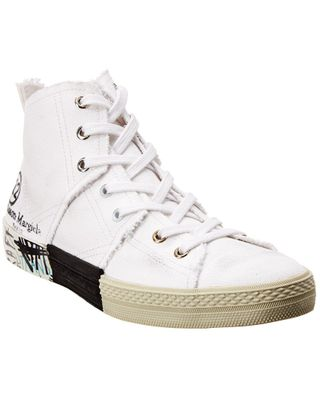 Maison Margiela Graffiti Canvas Sneaker