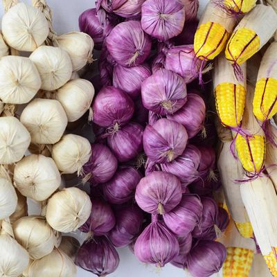 2019 Hot Artificial Foam Vegetables Plant Garlic Fake Onion Corn Fishes Hanging String Home Decoration Photography Props