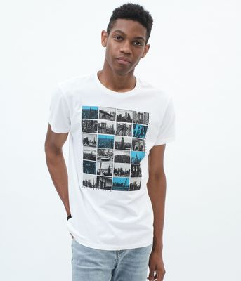 Aeropostale NYC Collage Graphic Tee
