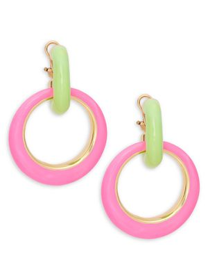 SPHERA MILANO Round Drop Earrings